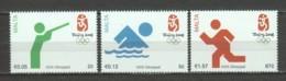 Malta 2008 Mi 1564-1566 MNH SUMMER OLYMPICS BEIJING - Summer 2008: Beijing