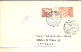 MATASELLOS 1953   SEVILLA - 1951-60 Cartas