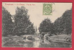Templeuve - Le Château - Vue Du Parc  -1907 ( Voir Verso ) - Tournai