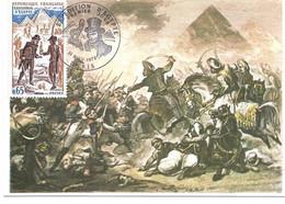 Carte 1er Jour Histoire De France Expédition D'Egypte  Du 11.11.1972 Paris Timbre YT N° 1731 - 1970-1979