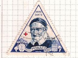 PIA - MONACO - 1950 - Anno Santo - San Vincenzo De Paoli -(Yv 353) - Used Stamps