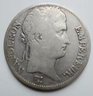PREMIER EMPIRE 5 FRANCS 1812 H - J. 5 Francs