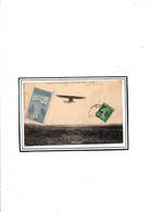 VIGNETTE CONCOURS D AVIATION DE DOUAI 1909  SUR CPA BLERIOT - Fliegertreffen