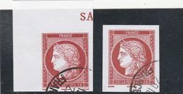 FRANCE 2014 ISSU BLOC SALON DU TIMBRE CERES OBLITERE YT 4871 - 4872 - Gebraucht