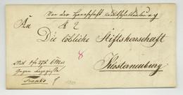 DEUTSCH-ALTENBURG 1831 Wertbrief Nach Klosterneuburg - ...-1850 Prephilately