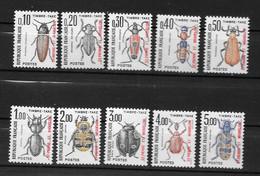 TAXE - 1986 - N° 82 à 91**MNH - Timbres-taxe