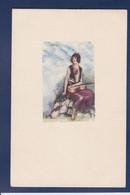 CPA Mauzan Femme Women écrite - Mauzan, L.A.