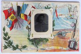 """CPA Avec Photographie D'identité D'un Soldat Du 8e Bataillon """"régiment"""" De Chasseurs à Pied Guerre 14-18 WW1 - Régiments"""