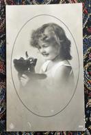 Meisje - Fillette - Teddy Beer - Nr, 1870 - Grete Reinwald Stijl - Verzonden - Portraits