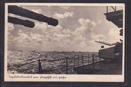 B60 /    WWII Kriegsschiffe Flagschiff / Werbestempel Stralsund 1940 - Nossen - Guerra 1939-45
