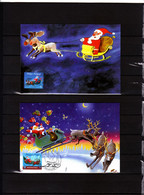 4087/8 Joyeux Noël - Père Noël - 2001-2010