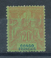 Congo  N°18* - Unused Stamps