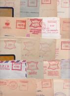 Tchécoslovaquie Ceskoslovensko - Gros Lot De 396 Enveloppes Cachet Mécanique Machine EMA Slogan Meter Mail Covers Cover - Collections, Lots & Series