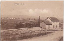 71 - LACROST - La Gare (Train, Locomotive à Vapeur) - 1937 - Other Municipalities