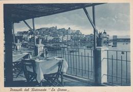POZZUOLI-NAPOLI-DAL RISTORANTE=LA SIRENA= CARTOLINA NON VIAGGIATA 1948-1950 - Pozzuoli