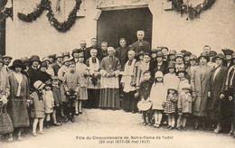 D32  Fête Du Cinquantenaire De Notre Dame De Tudet ( Saint Clar )  .........  Carte Peu Courante - Sonstige Gemeinden