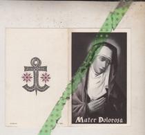 Julia Houthoofd-De Sutter, Aalter 1882, 1965 - Avvisi Di Necrologio