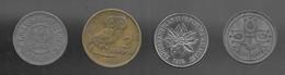 Lot De 4 Monnaies :  Belgique / Grèce / Pays-Bas / Madagascar (952) - Lots & Kiloware - Coins