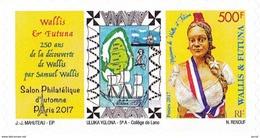 WALLIS Et FUTUNA - 2017 - TIMBRE ADHESIF - 71ème Salon Philatélique D'Automne 2017 PARIS - Neufs
