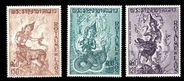 (125) Laos  Culture / Mythology   ** / Mnh  Michel 344-346 - Laos