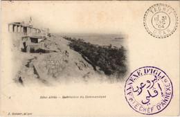 CPA AK BENI-ABBES Habitation Du Commandant ALGERIE (1146104) - Other Cities