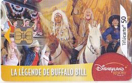 CARTE TELEPHONIQUE LA LEGENDE BUFFALO BILL - Cinema