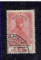 HONGRIE ( Y&T) 1915 - N°156  * Timbres De 1913+surcharge *     1k  (oblit) - Used Stamps