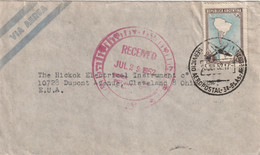 ARGENTINA AIRMAIL COVER 1952 - Other