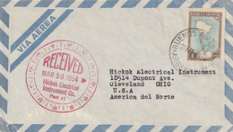 ARGENTINA AIRMAIL COVER 1954 - Other