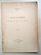 G. Boffito - Eretici In Piemonte: Al Tempo Del Gran Scisma 1378-1417 - Ed. 1897 - Autres