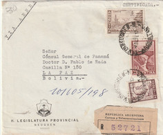 ARGENTINA AIRMAIL COVER 1962 - Other