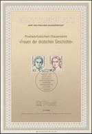 ETB 27/1986 Frauen Der Geschichte, Teuch, Schumann - FDC: Covers