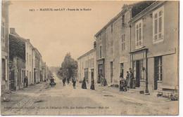 85 MAREUIL-sur-LAY   La Route De La Roche - Mareuil Sur Lay Dissais