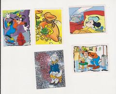 8 Different Disney VIP's Collector Cards Belgian Version - Disney