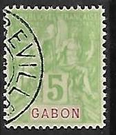 GABON N°19  Oblitération De Libreville - Used Stamps