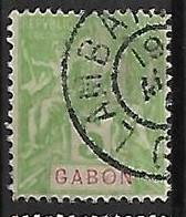 GABON N°19  Oblitération De Lambaréné - Used Stamps