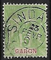 GABON N°19  Oblitération De Sindara - Used Stamps