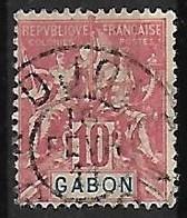 GABON N°20  Oblitération De N'Djolé - Used Stamps