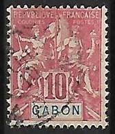 GABON N°20 - Used Stamps