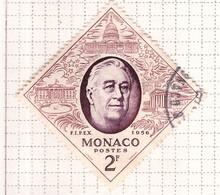 PIA - MONACO - 1956 - Esposizione Filatelica Internazionale Di New York- (Yv 445) - Used Stamps