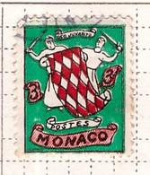 PIA - MONACO - 1954 - Stemma - (Yv 410) - Used Stamps