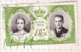 PIA - MONACO - 1956 - Matrimonio Del Principe Ranieri III Con Grace Kelly - (Yv 476) - Used Stamps