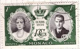 PIA - MONACO - 1956 - Matrimonio Del Principe Ranieri III Con Grace Kelly - (Yv 473) - Used Stamps