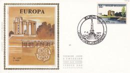 FDC 1977 Soie EUROPA   Welkenraedt  7.05.77 - 1971-80