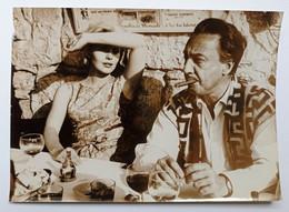 Foto Dell'Agenzia Farabola Milano - Jean Seberg E Romain Gary A Nizza - 1962 - Non Classés