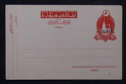CILICIE - Entier Postal De L'empire Ottoman Surchargé Cilicie, Non Circulé - L 102486 - Briefe U. Dokumente