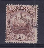 Bermuda: 1910/25   Ship    SG44    ¼d   Brown       Used - Bermudas