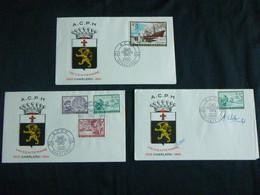"BELG.1966 1391-1394 FDC's ( Charleroi ) : "" A.C.P.H  "" Rotary - 1961-70"
