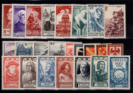 Année Complète 1946 N** Cote 26 Euros - 1940-1949