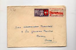 5CRT431 - SVIZZERA , Lettera Del 10.9.1939 Per L' Italia - Covers & Documents